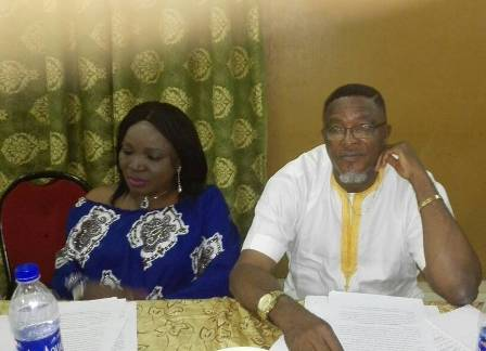 CHIEF-MRS.-PAT.-EJETE-AND-DR-EMMANUEL-TIBI-AT-THE-MEETING POCKETS OF DEVELOPMENT IN IKA LAND SOON - BARR. UZUM