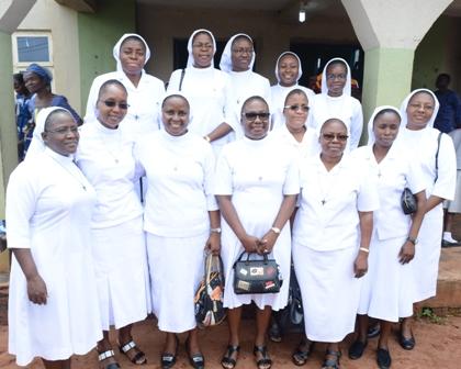 CSC_0299 SR. OKONYE MARKS 25 YEARS OF RELIGIOUS PROFESSION