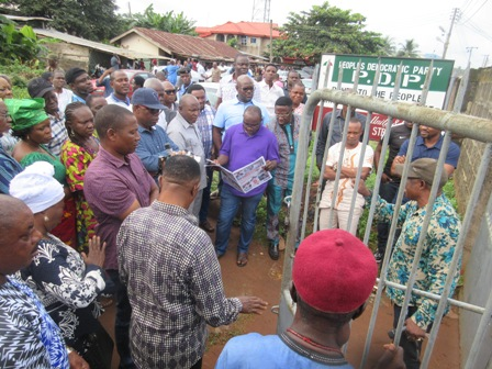 IMG_2804 LG POLL: IKA SOUTH PDP ELECTS CHAIRMANSHIP CANDIDATE