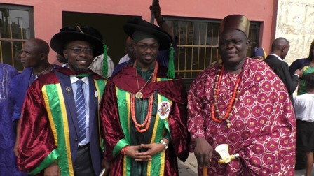 IMG-20180128-WA0008 DEIN OF AGBOR CHANCELLOR  WEST AFRICAN UNION UNIVERSITY
