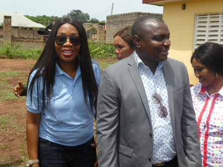 P1010674 DR. (MRS.) ISIOMA OKOBAH VISITS IGBODO HEALTH CENTRE
