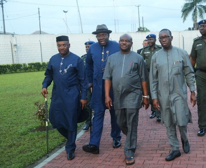 pix-32 SOUTH SOUTH GOVERNORS MEET IN PORT HARCOURT, BACK RESTRUCTURING