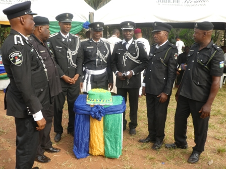 P1060475 AGBOR POLICE DIVISION SENDS OFF RETIRED OFFICERS