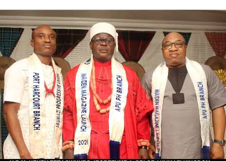 HRM-HENRY-EZEAGWUKPO-JEGBEFUME-1-AND-LADIES-OF-APU-PH-BRANCH JUBILATION AS APU, PH BRANCH LAUNCHES MAIDEN MAGAZINE