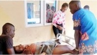Front-II-b ELECTROCUTION: ARIMOKWU SYMPATHISES WITH VICTIM'S FAMILY, FROWNS AT BEDC